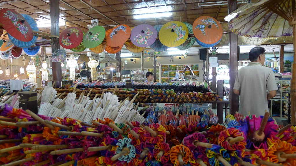 Marble Store Near Me >> Umbrella Factory and Silk Factory, Chiang Mai