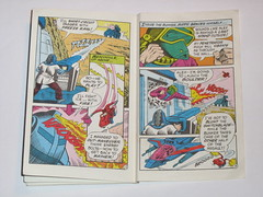 m.a.s.k mini comic 3 assault on boulder hill kenner 8 (tjparkside) Tags: comic mask kenner minicomic