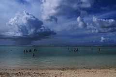 beach of Tumon Bay, Guam, USA
