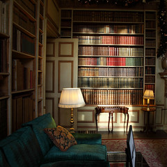 Leeds Castle 8714 (Tony Withers photography) Tags: old uk castle lady kent library leeds olive books historic collection 2012 volumes baillie