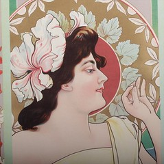 "An Art Nouveau Period Poster • <a style=""font-size:0.8em;"" href=""http://www.flickr.com/photos/92426936@N05/8338519958/"" target=""_blank"">View on Flickr</a>"