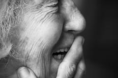 ritratto (Diana Petrarca photo) Tags: portrait people persone ritratti ritratto biancoenero nonna