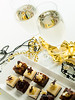 Assorted petite party pastries (Arina Habich) Tags: party food white holiday black glass silver dessert mask drink sweet chocolate champagne beverage decoration newyear alcohol sweets sugary sparkling newyeareve indulgence happynewyear carbonated facemask dishware kitchenware champagneglass pastrie sweetfood partypastries newyearevebeads assortedpetite