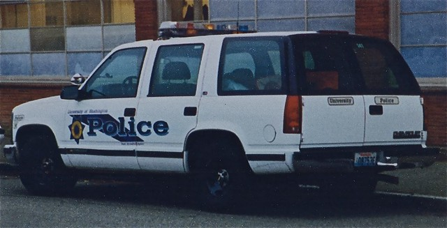 chevrolet vintage tahoe 1998 suv patrol supervisor uwpd universityofwashingtonpolicedepartment