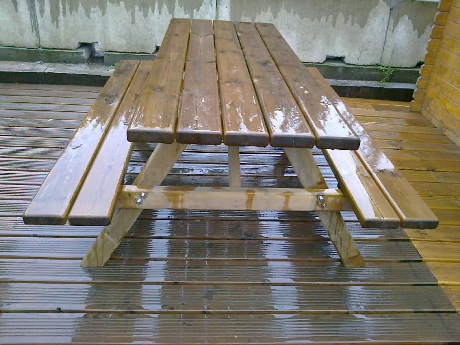 Mesa pino picnic 2000x760mm