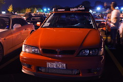 DSC03354 (Photography by BNC) Tags: auto car vw night honda photography long exposure nissan jeep flash mob toyota mazda audi acura meet mitsubishi jdm