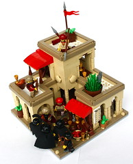 LCC: Towncenter (AoE2) (Simon S.) Tags: castle classic lego bricks arab age lands lcc empires arabians saracens