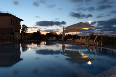 An Evening By The Pool (Been Around) Tags: travel pool hotel vacances holidays europa europe travellers eu september swimmingpool bulgaria blacksea 2012 bul bulgarien lozenets blackseacoast chernomore  schwarzesmeer tsarevo  concordians thisphotorocks schwarzmeerkste visipix bulgarianblackseacoast tschernomore hotellalovegrek