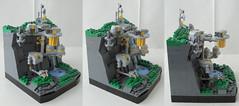 Research Base Kappa - Right (Jayfourke) Tags: lego space scifi fi vignette sci eb microspace vig eurobricks