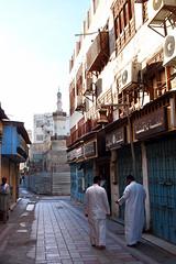 Stroll along the street (cumulo-nimbus) Tags: jeddah saudiarabia oldjeddah january2013