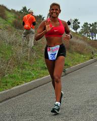 Smiling Woman Runner