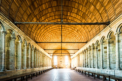 refectory of Abbaye du Mont-Saint-Michel (dawvon) Tags: world travel france castle architecture ed nikon europe zoom snapshot wideangle unescoworldheritagesite unesco worldheritagesite roofs mount monastery snaps unitednations normandie stmichel nikkor normandy f4 vr afs montstmichel montsaintmichel lenses historicalbuilding zoomlens refectory f4g unitednationseducationalscientificandculturalorganization 1635mm bassenormandie  fmount vibrationreduction vr2 vrii  wideanglezoom lowernormandy abbayedumontsaintmichel abbeyofmontsaintmichel nanocrystalcoat afsnikkor1635mmf4gedvr 1635mmf4gvr  rfectoiredesmoines
