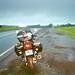 Segundo dia de viagem com muita chuva
