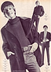 Mod Fashion 3 - Eaton's Catalog 1966 (Patrick from Parka Avenue) Tags: mod 1966 carnabystreet mods 60sfashion chelseaboots mailordercatalog parkaavenue