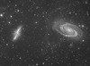 M81 Bode's Galaxy, M82 Cigar Galaxy, Holmberg IX and IFN (Terry Hancock www.downunderobservatory.com) Tags: camera sky monochrome night stars photography mono major pier back backyard fotografie photos thomas space ngc shed science images astro apo m observatory telescope ngc3034 galaxy astrophotography astronomy imaging messier ccd universe cosmos ursa ix paramount luminance irregular lodestar teleskop astronomie byo f7 m82 m81 3031 refractor deepsky holmberg bodes astrograph autoguider starlightxpress Astrometrydotnet:status=solved tmb130ss Astrometrydotnet:version=14400 mks4000 gt1100s qhy9m Astrometrydotnet:id=alpha20130238721560