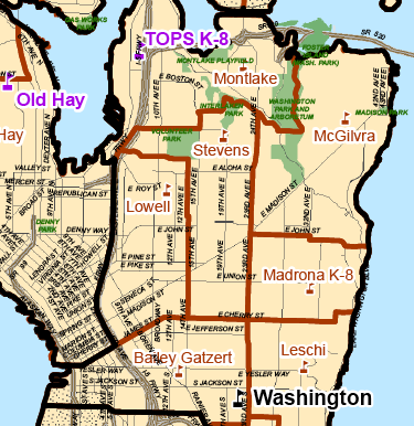 New Seattle school boundary maps to be released UPDATE CHS