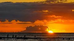 Hawaii (H. Kiehn Photography) Tags: hawaii waikiki sunset ocean meer abendrot