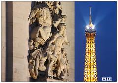 La rsistance - Paris (Philippe Cottier (PH.C)) Tags: paris toureiffel monument france sculpture eiffelturm parigi francia cityscape detail capitale cheval horse
