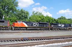 CN 8911 (Fan-T) Tags: berea cn sd70m2 8911 ohio ns