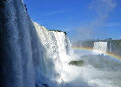 FOZ DO IGUACU, BRAZIL - waterfall/ --,  -  (Miami Love 1) Tags: waterfall cascade cascada cataract catarata cachoeira salto falls iguazu iguassu iguacu parana foz worldwonder wonderoftheworld gargantadeldiablo devilsthroat brazil brasil brazilian brasileno brasileiro