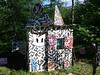 La cabane du peintre (wahcomix) Tags: cabane peintre art artiste wah comix wahcomix guy boutin peinture sculpture environement stjeanne darc de métis