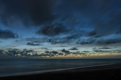 Dark Blue (dave.fergy) Tags: composite holidays beach landscape sunset dusk water bluelight events clouds ocean longexposure on1pics adobeps tambonkhuekkhak changwatphangnga thailand th