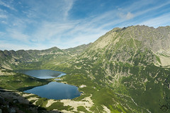 Dolina Piciu Staww Polskich z niebieskiego szlaku prowadzcego do Morskiego Oka (czargor) Tags: outdoor inthemountain mountians landscape nature tatry mountaint igerspoland