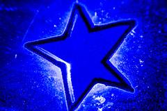 Blue Star [234/366] (timsackton) Tags: 365photoproject happymacromonday macro macromondays somerville massachusetts unitedstates blue macromondaystar