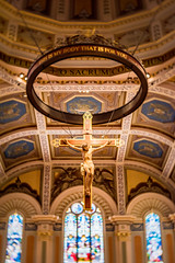Inside the Cathedral of the Blessed Sacrament (oliver.nispel) Tags: sacramento usa unitedstates architecture bulding city place urban urbex cathedral church jesus blessed califorinia indoor