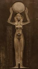 The Goddess Nut Raising the Sun (Rick & Bart) Tags: paris france city museum art history egypt ancient louvre sculpture statue rickvink rickbart canon eos70d gnneniyisi thebestofday