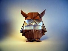 Le hibou de Rui - Barth Dunkan (Rui.Roda) Tags: origami papiroflexia papierfalten mocho coruja buho owl eule le hibou de rui barth dunkan