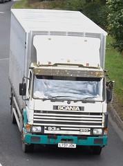 L737 JOK at Welshpool (joshhowells27) Tags: livestock scania welshpool old lorry wales rotting