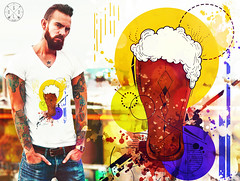 T-Shirt Brown Ale Beer (golodesign) Tags: golodesign design tshirt blusa camisa camiseta desenh odrawing draw ilustrao ilustration aquarela acuarela watercolo rarte art tinta estampa vandal criatividade criative criativo cores cerveja beer choop copo caneca tattoo tatuagem brown