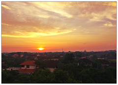 Every day is a new beginning.. (Mohamed Essa) Tags: iftoday bali seminyak sunrise sun sunlight cityview red sky could landscape outdoor