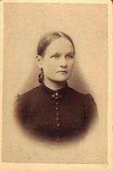 Ida Rapo (Kuvassa - valokuvia suomalaisista ry) Tags: finland juhahartikaisenkokoelma karkku rapo 1896