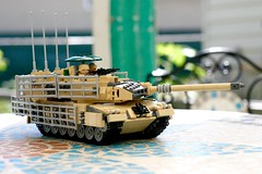Almost Done! (ABS Defence Systems) Tags: lego leopard 2 2a6m can caf ldsh tank mbt 135 wip brikwars