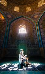 Illumination (RJDonga) Tags: sheikh lotfollah mosque islamic architecture muslim esfahan persia iran light illumination colours window reflections naqshe jahan square imam shah