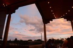 Sunset in Santa Fe (mag3737) Tags: santafe sunset restaurant patio