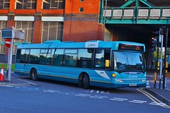 Arriva Midlands 3556 YR58SRY - Derby Bus Station (South West Transport News) Tags: arriva midlands 3556 yr58sry derby bus station showbus 2016 donnington park