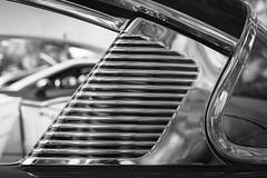 Car show at Cantigny - 2016 (SauceyJack) Tags: 40mmpancake 40mmf28 canon1dxmarkii 2016 auto automobile bw blackwhite blackandwhite bumper cadillac cantigny car carshow fleetwood il ill illinois lrcc lightroomcc monochromatic monochrome park september transportation vehicle wheaton