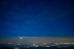 Starlight (Nexwayz) Tags: grand ballon france sky night star mulhouse panorama plaine haut rhin nuit ciel etoile voie lacte milky way