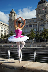 DSC06316 (liverpix) Tags: cleo dog performing anthonywalsh photowalk 500px liverpool pierhead liverbuilding ballerina ballet