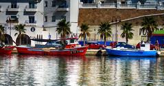 Brillos (candi...) Tags: puerto barcas agua lametllademar sonya77 pueblo marinero