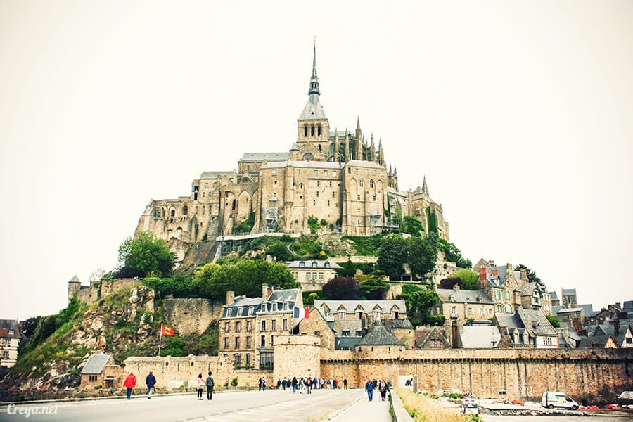 2016.09.25 ▐ 看我的歐行腿▐ 法國巴黎聖米歇爾山,原來腦子有洞是這樣來的 01