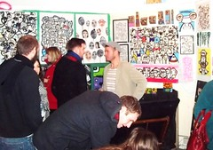 Open Studio (kev munday) Tags: streetart painting outsiderart modernart canvas artshow artexhibition openstudio brightart colourfulart