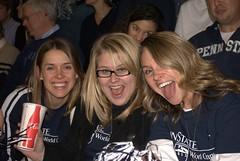 Megan Hutchinson, Alli Downs and Terah Richardson (Penn State World Campus) Tags: pennstateworldcampus pennstatebasketball