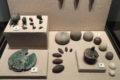 Weights and measures, c. 1305 BCE (Anita363) Tags: animals stone bronze turkey shipwreck balance standards bodrum weights syrian uluburun bodrummuseumofunderwaterarchaeology museumofunderwaterarcheology geotagmanual