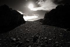 Dritvik Departure (claustral) Tags: people sun beach dark iceland rocks dxo lowkey gravel snfellsnes d800 dritvk mfybesticeland