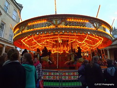 Carousel (CJFIZZ (is in Wiltshire)) Tags: bath entertainment wintermarket bathchristmasmarket