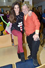 Glenda Gilson, Brendan O'Carroll at the annual Our Lady's Hospital for Sick Children Christmas Ward Walk, Dublin